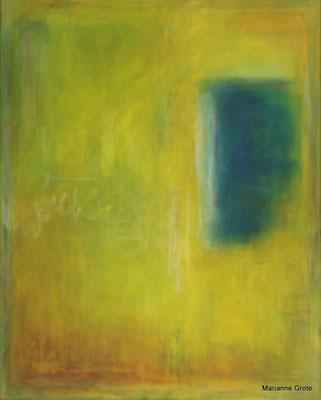 Meditation II, Mischtechnik auf Leinwand, 100 x 70 cm, 2010