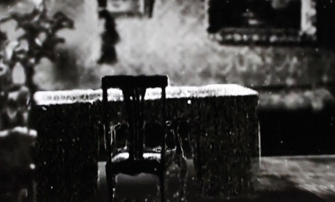 "Still from the video ""Dead House"""