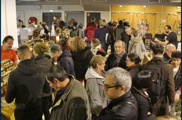 - 10ème marché de noël de l'association llb - lons le saunier - jean paul barthelet - le progrès