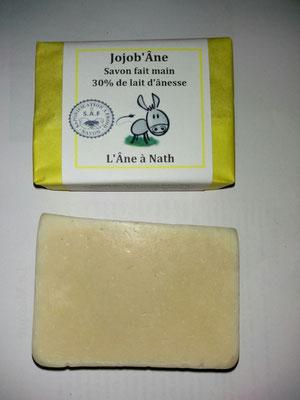 association llb - producteur du jura - l'âne à nath - savons au lait d'ânesse
