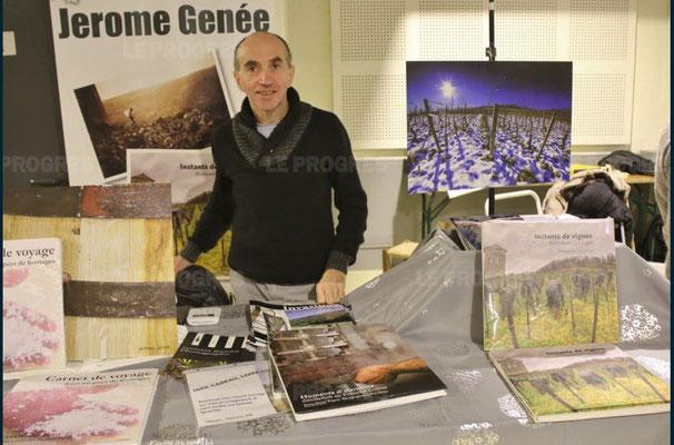 jérôme genée - 10ème marché de noël de l'association llb - lons le saunier - jean paul barthelet - le progrès