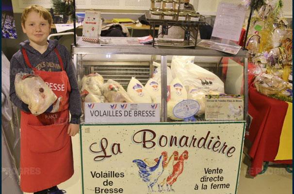 nicola roguet - 10ème marché de noël de l'association llb - lons le saunier - jean paul barthelet - le progrès
