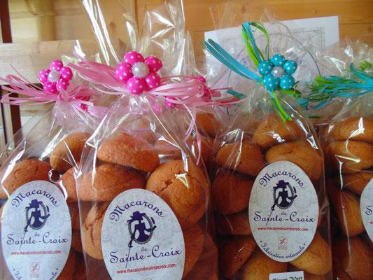 les macarons de sainte croix - producteur de saône et loire - association llb