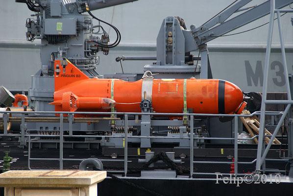 Minisubmarino Pinguin B3
