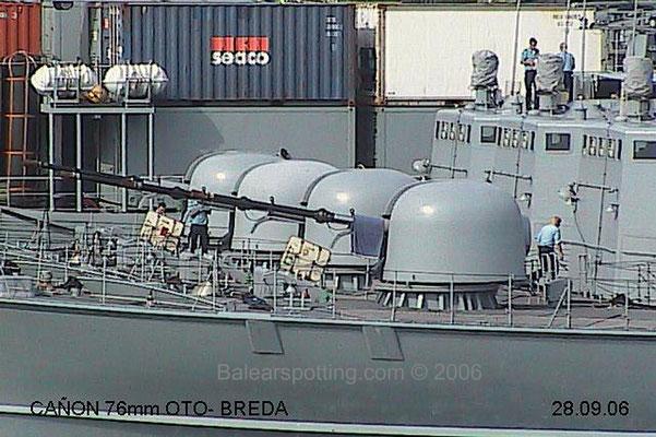 Cañón OTO-Breda DP 76MM cal.62