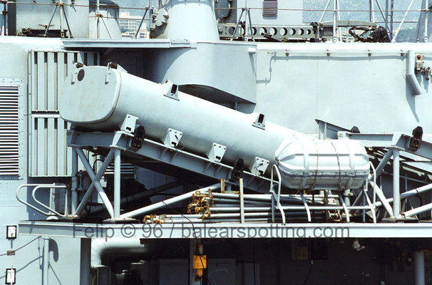 Lanzador misil antibuque Otomat-Teseo Mk 2