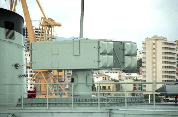 Lanzador de misiles RIM-7 Sparrow