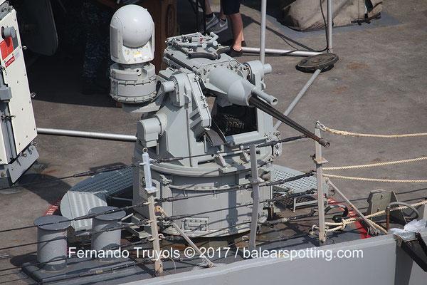 Cañón de 25mm Mk38