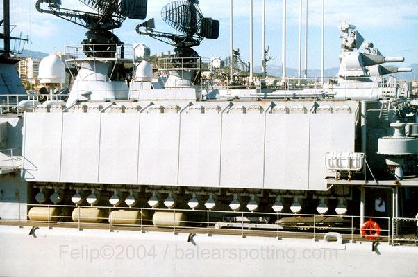Lanzador Mk.48 para misiles Sea Sparrow