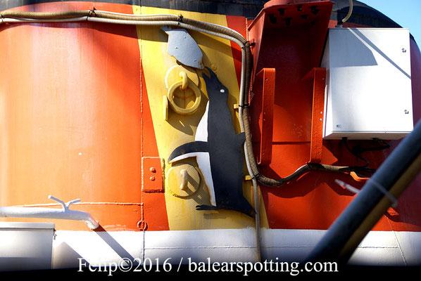 Un miembro de la tripulación perteneciente a mares lejanos. 21.06.2016