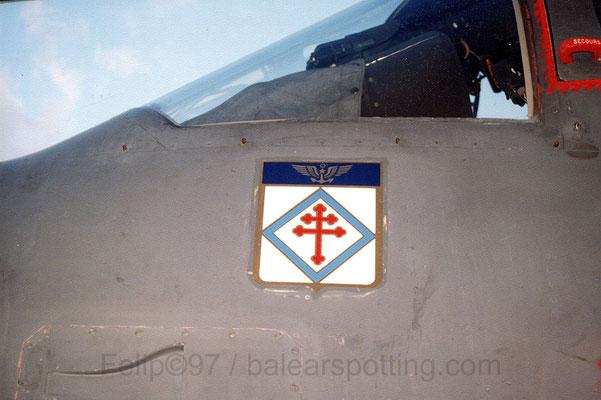 Escudo de la 6ª Flotille sobre un Breguet Alize