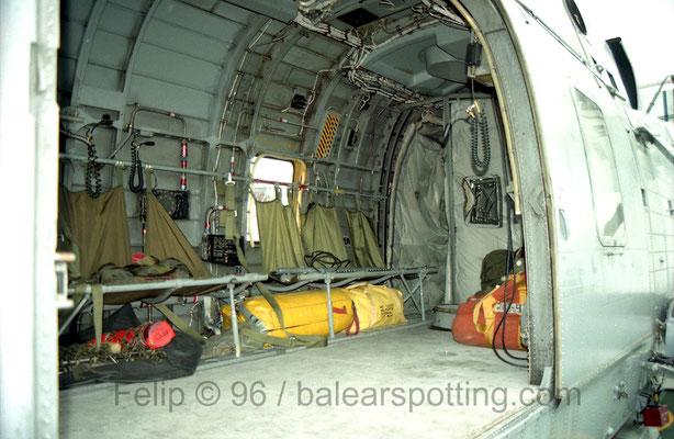 Interior del CH-124 SeaKing