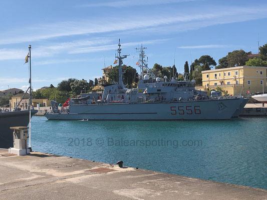 5556 Alghero en la E.N. Porto Pi el 13 de Mayo del 2018