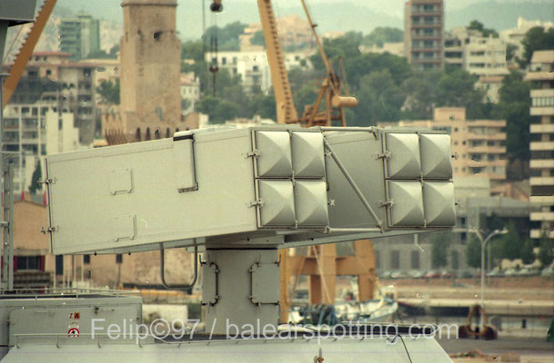 Lanzador de misiles Sea Sparrow