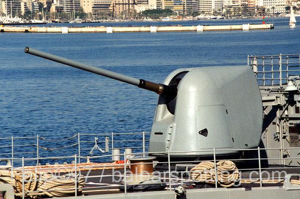 Cañón bivalente de 127mm Mk 45 DP