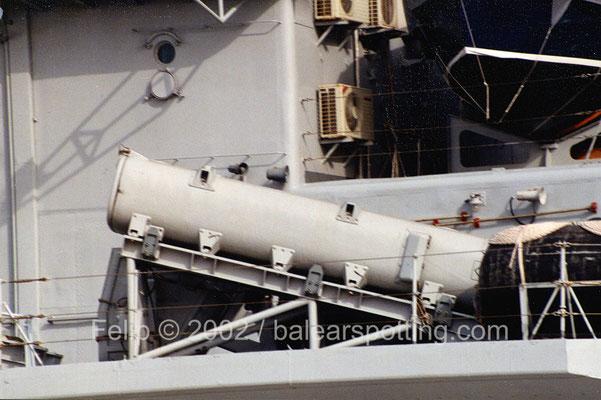 Lanzador de misiles antibuque Teseo OTOMAT