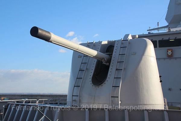 Cañón OTO Melara 127/54mm