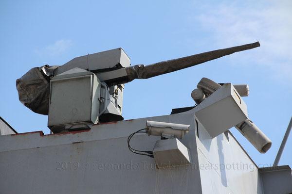 Cañón CIWS Nexter Narwhal 20mm