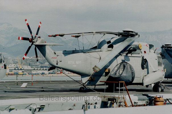 Sea King AEW.2 del 849 NAS (R05 Invincible 19.09.1996)