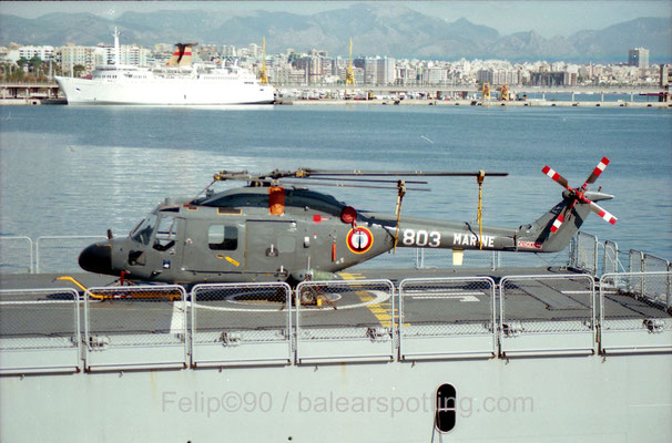 """Lynx HAS Mk.4 (FN) """"803"""" de la 31F"""