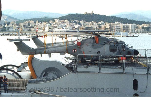 """Lynx HAS Mk.4 (FN) """"813"""" de la 31F"""