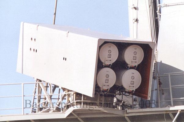Misiles antibuque MM-40 Exocet.
