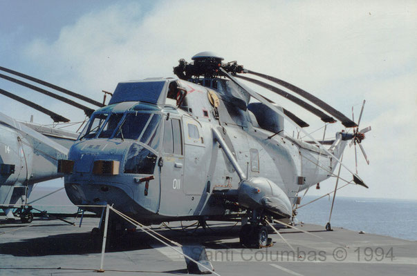 Sea King HAS.6 (R07 Ark Royal 25.08.1994)