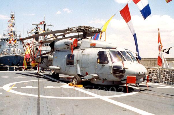 SH-60B Seahawk de la 10ª Escuadrilla