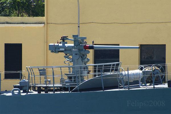 Cañón 76,2mm cal. 50 US Mk.22 DP