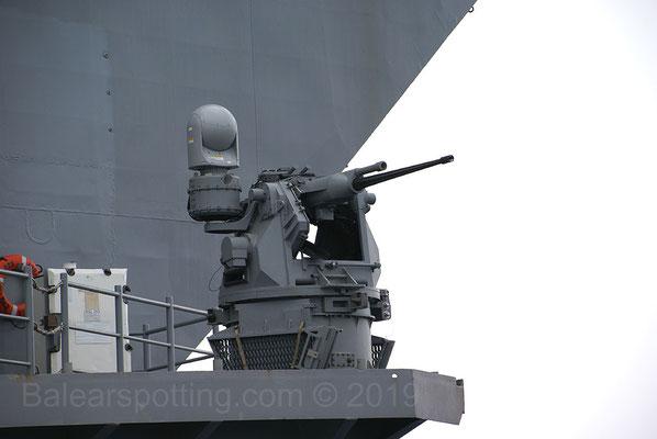 Cañón Bushmaster de 25mm