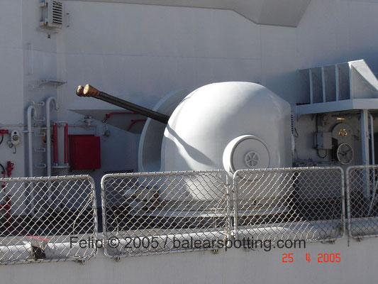 Cañón bitubo OTOBreda Dardo AA 40 mm-70 cal