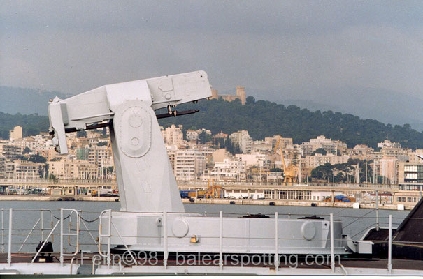 Lanzador Mk.13 para misiles Pomona Standard SM-1R