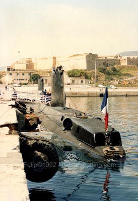 En la misma fecha el S-643 Doris y a su proa el Español S-71 Galerna