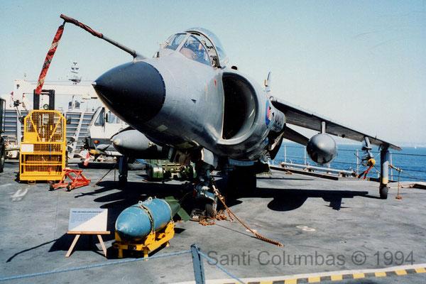 Sea Harrier FRS.1 (R07 Ark Royal 28.05.1994)