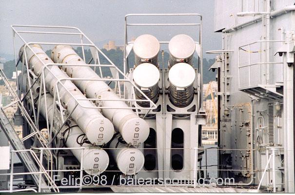 Lanzadores de misiles MM40 Exocet