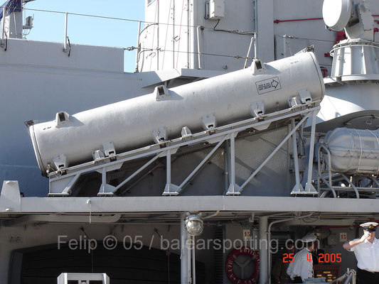 Lanzador de misiles antibuque Otomat-Teseo Mk 2