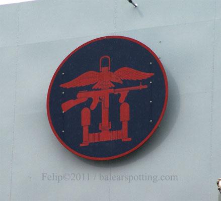Escudo de los Royal Marines