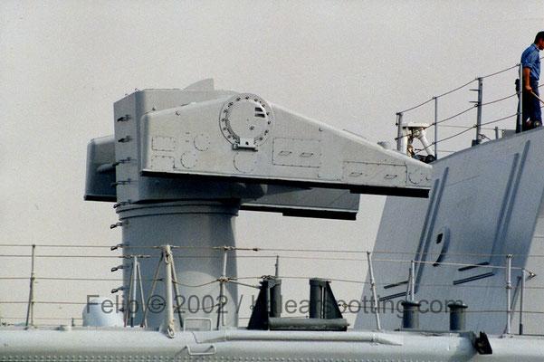Lanzador Mk.10 para misiles antiaéreos Terrier / Standard y antisubmarinos ASROC