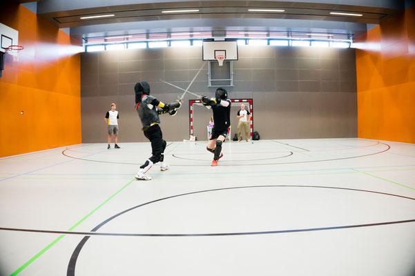 Vereinsturnier 2017 - Martin li. gegen Karl