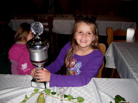 Paula Kahrs gewinnt den Jugendpokal