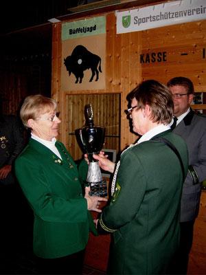 Dagmar Müller Schloo ist Vereinsmeisterin der Damen