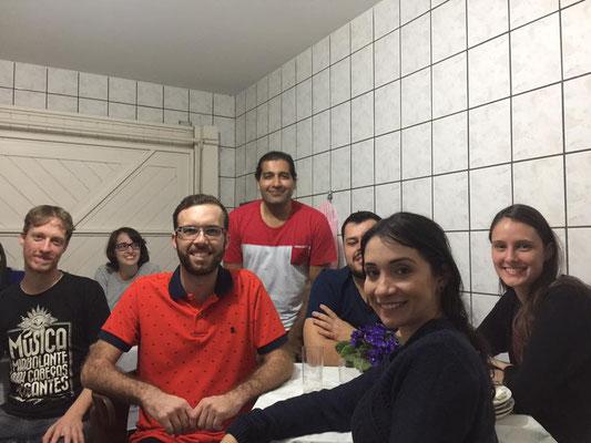 Prof. Braga birthday Party at his home - 19-05-2017