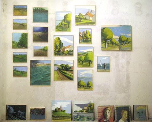 Blick ins Atelier, Bodenseestudien