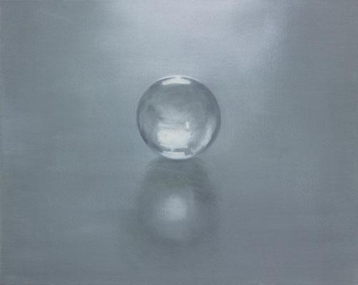 Glaskugel 2 40x50cm 2015