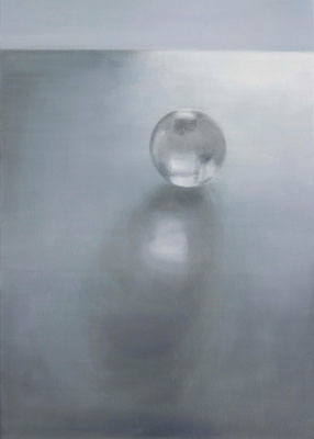 glaskugel 01 70x50cm