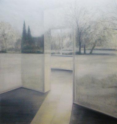 reflexion  200x200cm 2009