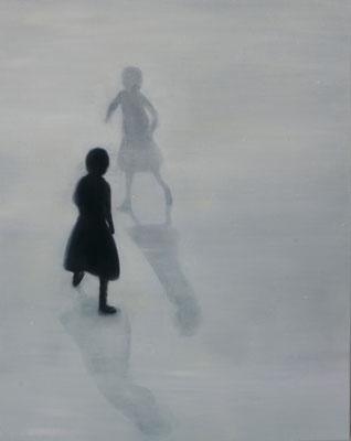 Mit Schatten  100x80cm 2011