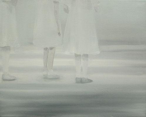 weiß  40x50cm 2010