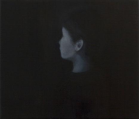 Gesicht 8 30x35cm 2012