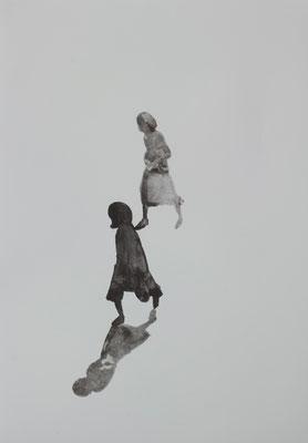 Zu Dritt 54,0 × 38,0 cm
